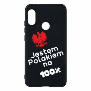 Phone case for Mi A2 Lite I'm Polish for 100% - PrintSalon