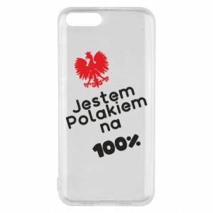 Phone case for Xiaomi Mi6 I'm Polish for 100% - PrintSalon
