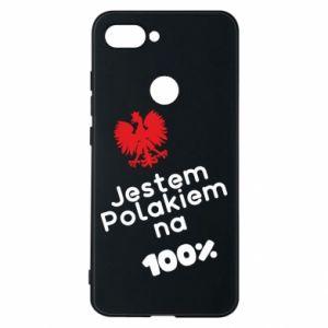 Phone case for Xiaomi Mi8 Lite I'm Polish for 100% - PrintSalon