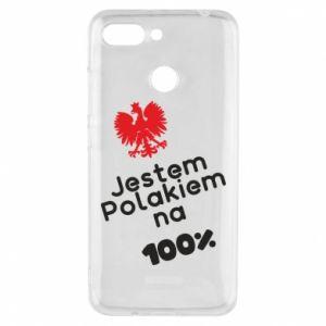 Phone case for Xiaomi Redmi 6 I'm Polish for 100% - PrintSalon
