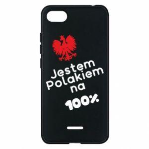 Phone case for Xiaomi Redmi 6A I'm Polish for 100% - PrintSalon