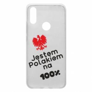 Phone case for Xiaomi Redmi 7 I'm Polish for 100% - PrintSalon