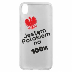 Phone case for Xiaomi Redmi 7A I'm Polish for 100% - PrintSalon