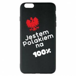 Phone case for iPhone 6 Plus/6S Plus I'm Polish for 100% - PrintSalon