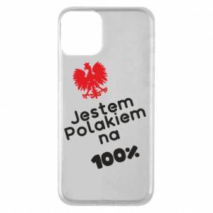Phone case for iPhone 11 I'm Polish for 100% - PrintSalon