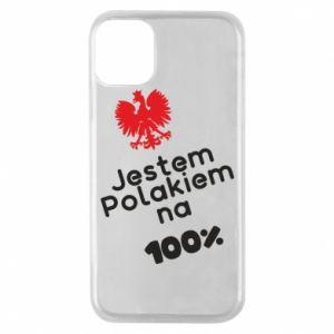 Phone case for iPhone 11 Pro I'm Polish for 100% - PrintSalon