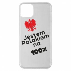 Phone case for iPhone 11 Pro Max I'm Polish for 100% - PrintSalon