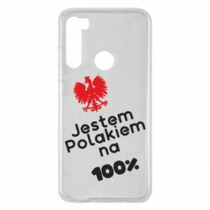 Etui na Xiaomi Redmi Note 8 Jestem Polakiem na 100%