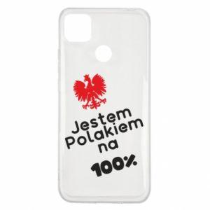 Etui na Xiaomi Redmi 9c Jestem Polakiem na 100%