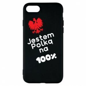 Etui na iPhone 8 Jestem polką na 100%