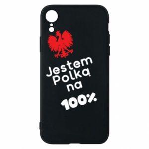 Etui na iPhone XR Jestem polką na 100%