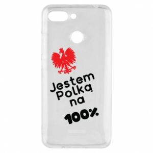 Etui na Xiaomi Redmi 6 Jestem polką na 100%