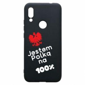 Etui na Xiaomi Redmi 7 Jestem polką na 100%
