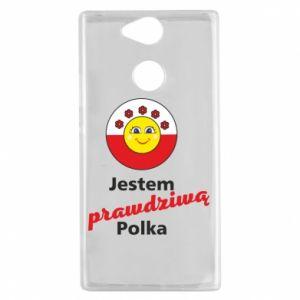 Etui na Sony Xperia XA2 Jestem prawdziwą Polką