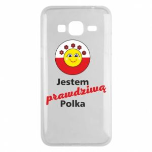 Phone case for Samsung J3 2016 I am a real Polish woman