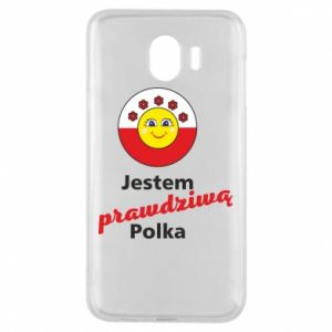 Phone case for Samsung J4 I am a real Polish woman