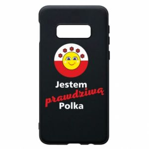 Phone case for Samsung S10e I am a real Polish woman