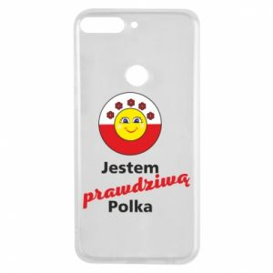 Etui na Huawei Y7 Prime 2018 Jestem prawdziwą Polką