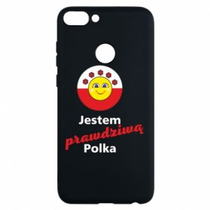 Phone case for Huawei P Smart I am a real Polish woman
