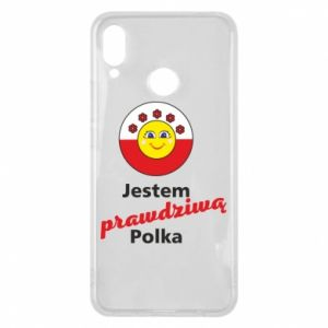 Phone case for Huawei P Smart Plus I am a real Polish woman
