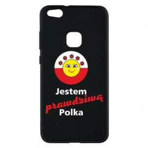 Phone case for Huawei P10 Lite I am a real Polish woman