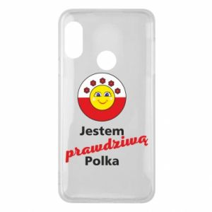 Phone case for Mi A2 Lite I am a real Polish woman