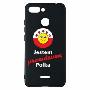 Phone case for Xiaomi Redmi 6 I am a real Polish woman
