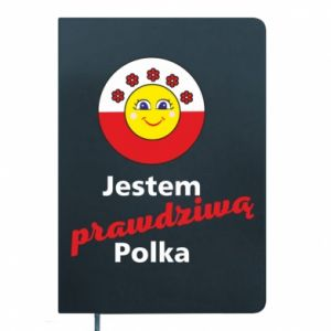 Notepad I am a real Polish woman