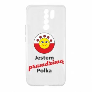 Xiaomi Redmi 9 Case I am a real Polish woman