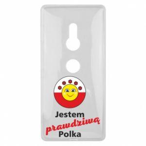 Etui na Sony Xperia XZ2 Jestem prawdziwą Polką