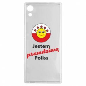 Etui na Sony Xperia XA1 Jestem prawdziwą Polką