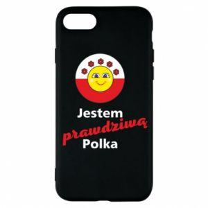 Etui na iPhone 8 Jestem prawdziwą Polką