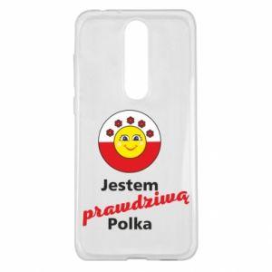 Etui na Nokia 5.1 Plus Jestem prawdziwą Polką