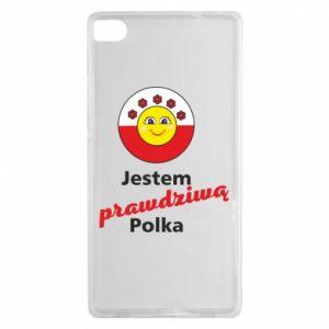 Etui na Huawei P8 Jestem prawdziwą Polką