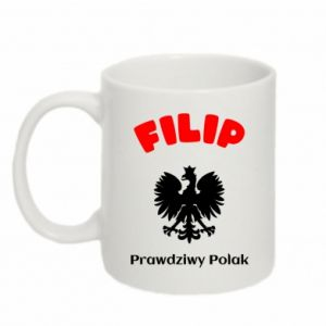 Mug 330ml Filip is a real Pole