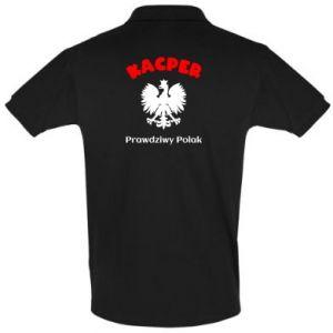 Koszulka Polo Kacper jest prawdziwym Polakiem