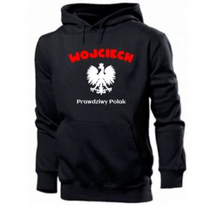 Men's hoodie Wojciech is a real Pole