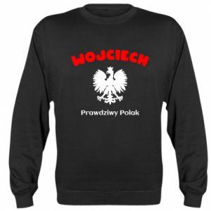 Sweatshirt Wojciech is a real Pole - PrintSalon