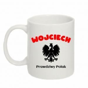 Kubek 330ml Wojciech jest prawdziwym Polakiem