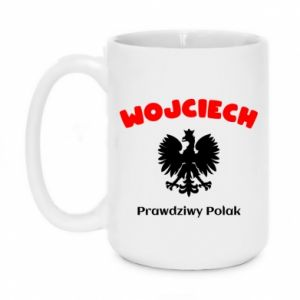 Mug 450ml Wojciech is a real Pole - PrintSalon