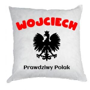 Pillow Wojciech is a real Pole