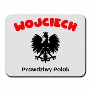 Podkładka pod mysz Wojciech jest prawdziwym Polakiem
