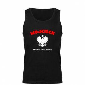Men's t-shirt Wojciech is a real Pole - PrintSalon
