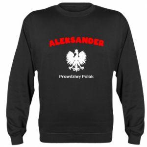 Bluza (raglan) Aleksander jest prawdziwym Polakiem