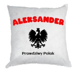 Pillow Aleksander is a real Pole