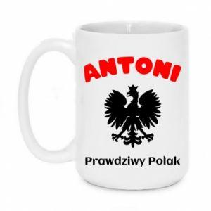 Kubek 450ml Antoni jest prawdziwym Polakiem