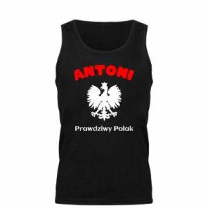 Męska koszulka Antoni jest prawdziwym Polakiem