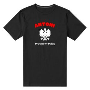 Men's premium t-shirt Antoni is a real Pole