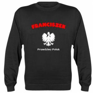 Bluza (raglan) Franciszek jest prawdziwym Polakiem