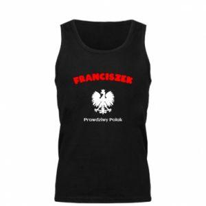 Męska koszulka Franciszek jest prawdziwym Polakiem
